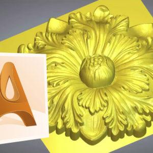 Corso Artcam per la creazione di bassorilievi, sculture e pezzi meccanici